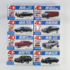 Stretch Limousines 8pcs 1/87 4D New Car Model Kit Chevrolet Hummer Varieties