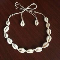 Bohemia Beach Bohemian Sea Shell Pendant Chain Choker Necklace Fashion Jewelry