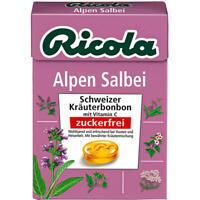 Ricola Alpen Salbei ohne Zucker, Bonbons, 20x50 g Bx