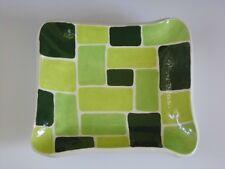 Handmade Painted Porcelain Ceramic Pottery Slab Dish
