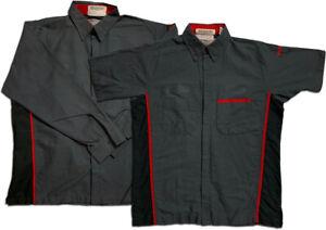 Red Kap Work Shirt Specialty Auto Mechanic Technician Uniform
