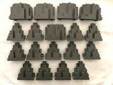 LEGO lot of 18 BURPS LURPS PANELS Castle Rock Wall Panels Genuine LEGO lot A
