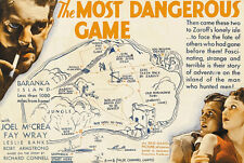 The most dangerous game Joel McCrea movie poster print #2