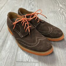 Stafford Wing Tip Suede Dress Shoes Men's Sz. 10.5 S151