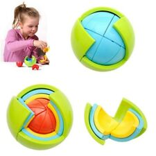 3D DIY Magic Intellect Puzzle Ball Brain Teaser Educational Toys For Kids Toys