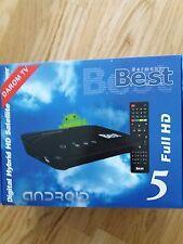 BEST 5 HD Sat Receiver Smart TV IPTV FullHD WLAN Android 4.2.2 USB