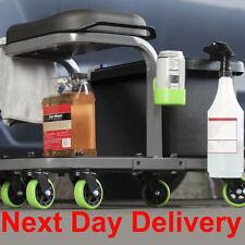 MYCHANIC Detailing Rig Mechanics Garage Rolling Stool Seat With Storage tray
