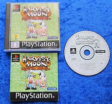 Harvest Moon Back to Nature, PS1, PlayStation 1 Spiel, OVP und Anleitung