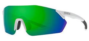 Smith Optics REVERB Matte White/Green Mirror 99/1/120 unisex Sunglasses