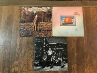 Allman Brothers Band 3 LP Lot - Brothers Sisters, Eat a Peach, At Fillmore East