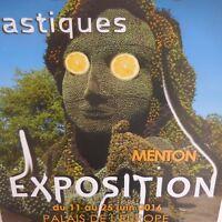 3 Carteles Escuela Artes Plástico Palacio Europa Menton 2016 Pn Francia N2261