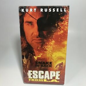 Escape from LA VHS Tape John Carpenter Kurt Russell NEW SEALED