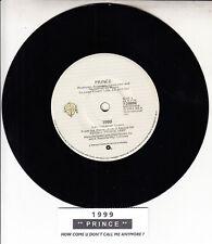 "PRINCE  1999 7"" 45 rpm vinyl record + juke box title strip"