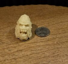 "Casted Head Horror King Kong Yeti Beast Figures 6-8""  scale for customs"