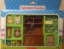 Rare Sylvanian Families Boxed TOMY MIB Unused Complete Farmhouse Kitchen Set HTF