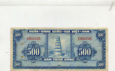 SOUTH VIETNAM  10  --  F/VF --  1955