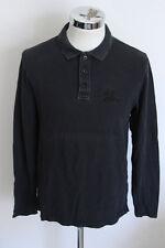 BURBERRY L polo t-shirt maglia maglietta E3100