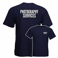 Photography Services T-Shirt, Work Wear, Industrial Office Uniform Tee Top