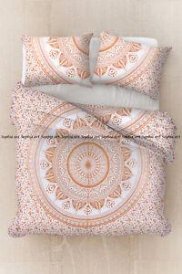 Indian ombre bohemian duvet doona cover mandala quilt comforter cover single set
