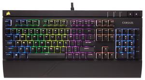 NEW Corsair STRAFE RGB LED Mechanical Gaming Keyboard Cherry MX Brown USB Wired