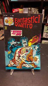 Fantastici Quattro #194 Editoriale Corno 1978 buono no resa