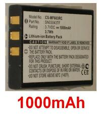 Batterie 1000mAh type SN03043TF Pour One for all Xsight Touch