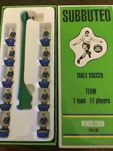 Subbuteo Legends / Leggenda Vintage Team - Wimbledon 1987/88