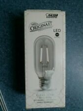 Feit Electric LED Original Vintage Style Bulb, 4 Watts, Clear Glass, T14, FS