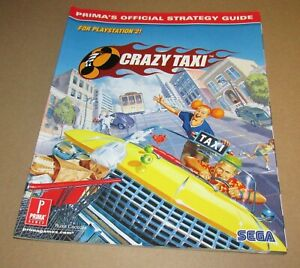 Crazy Taxi Strategy Guide for Playstation 2 & Sega Dreamcast