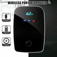 Portable 4G LTE Mobile Broadband Hotspot WIFI Wireless Router SIM Card 150Mbps