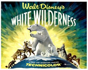 16mm Feature Film: WHITE WILDERNESS (1958) Walt Disney Documentary - TECHNICOLOR