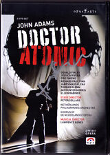 2.DVD John ADAMS Signed DOCTOR ATOMIC Peter Sellars Gerald Finley Jessica Rivera