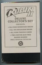 Robin II Deluxe Collector's Set Factory Sealed - DC Comics 1991