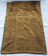 """1 MTR Negro Paisly impresión Brocade Fabric 45/"""" De Ancho Oferta especial £ 5.99 Gratis P/&P"""