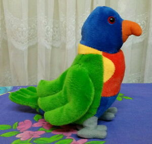 ** Beautifully detailed 17cm LORIKEET with sound chip**