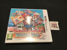 Paper Mario Sticker Star Nintendo 3DS DS PAL ESPAÑOL