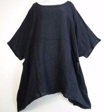 Maglie e camicie da donna a manica corta blu taglia taglia unica