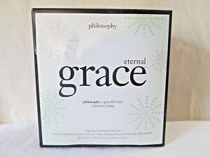 Philosophy ETERNAL GRACE 2 oz EDT, 16 oz SHOWER GEL & Lotion  Boxed Set Trio