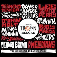 THIS IS TROJAN REGGAE DIGIPAK Dave & Ansel Collins.Boris Gardiner 2 CD NEW