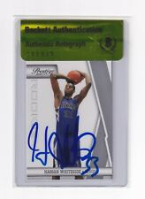 Hassan Whiteside Autographed 2010-11 Prestige Rookie Card #20 Beckett Authentic