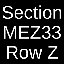 2 Tickets Jesus Christ Superstar 10/19/21 Seattle, WA