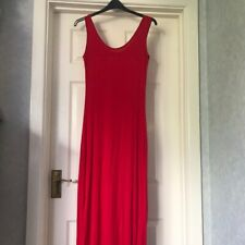 Pretty little thing red bodycon maxi dress size 14 BNWOT