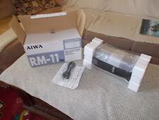 AIWA RM-11 Radio Cassette Recorder VINTAGE NEU versigelt