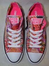 Converse All Star Women's CT OX Digital Floral White/Mult Sneaker-Asst Sizes NWB