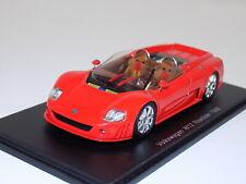 1/43 Spark Volkswagen W12 Roadster 1998 in red S0441