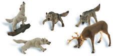 Woodland Scenics HO Scale Scenic Accents Figures/Animal Set Wildlife Standoff