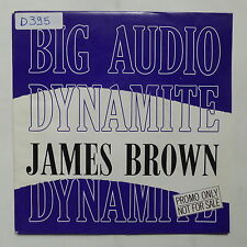 BIG AUDIO DYNAMITE  James Brown 655311 0 PROMO