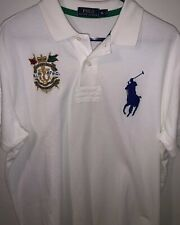 Polo Ralph Lauren Polo Big Pony Finest Marine Supplies Size Mens Xl Embroidered