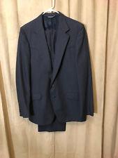 Men Vtg 60-70s Dallas Western App 2 Piece Western Suit Blue Size 42 Pants 35-33
