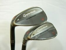 New LH Taylormade MG Bronze Wedge Set 56.09 LB Sand + 60.09 LB Lob Wedges